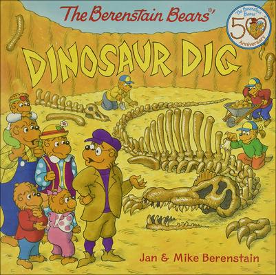 Berenstain Bears' Dinosaur Dig (Berenstain Bears (8x8)) Cover Image