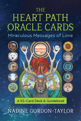 The Heart Path Oracle Cards: Miraculous Messages of Love Cover Image