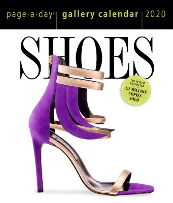 Shoes Page-A-Day Gallery Calendar 2020 Cover Image
