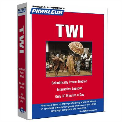 Pimsleur Twi Level 1 CD: Learn to Speak and Understand Twi with Pimsleur Language Programs (Compact #1) Cover Image