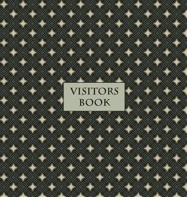 Visitors Book (Hardback), Guest Book, Visitor Record Book, Guest Sign in Book: Visitor guest book for clubs and societies, events, functions, small bu Cover Image
