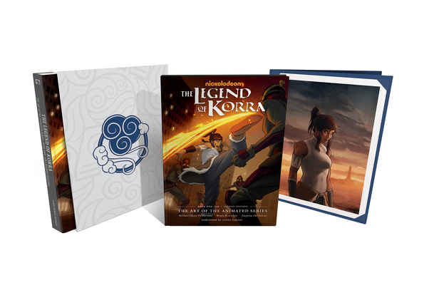 The Legend of Korra: The Art of the Animated Series--Book One: Air Deluxe Edition (Second Edition) Cover Image