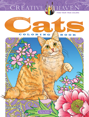 Creative Haven Cats Coloring Book (Adult Coloring) Cover Image