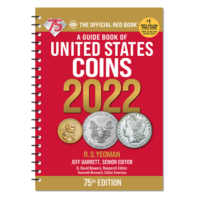 Redbook 2022 US Coins Spiral Cover Image
