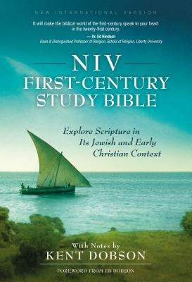 First-Century Study Bible-NIV: Explore Scripture in Its Jewish and Early Christian Context Cover Image