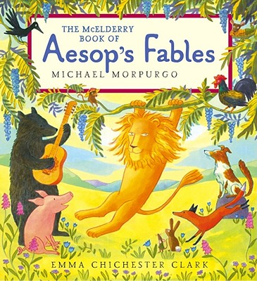 The McElderry Book of Aesop's Fables Cover