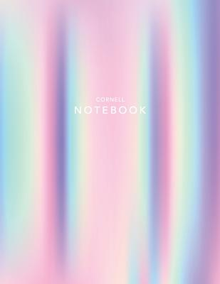 Cornell Notebook: Holographic Foil - 120 White Pages 8.5x11