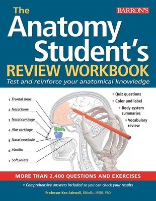 Anatomy Student's Review Workbook: Test and reinforce your anatomical knowledge Cover Image