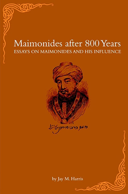 Maimonides After 800 Years Cover