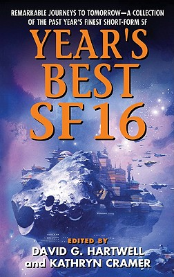 Year's Best SF 16 Cover