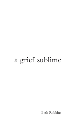 A Grief Sublime Cover Image