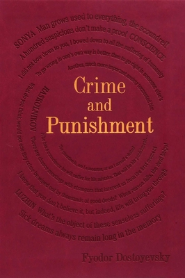 Crime and Punishment (Word Cloud Classics) Cover Image