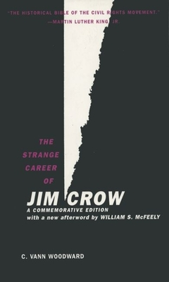 The Strange Career of Jim Crow Cover