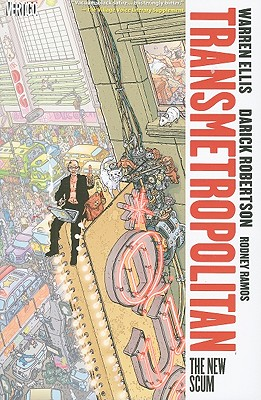 Transmetropolitan Vol. 4: The New Scum Cover Image