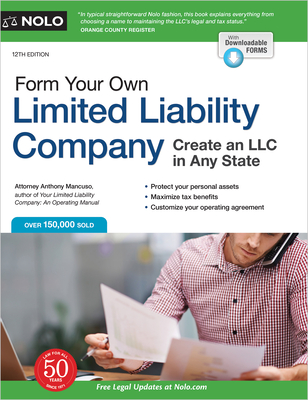 Form Your Own Limited Liability Company: Create an LLC in Any State Cover Image