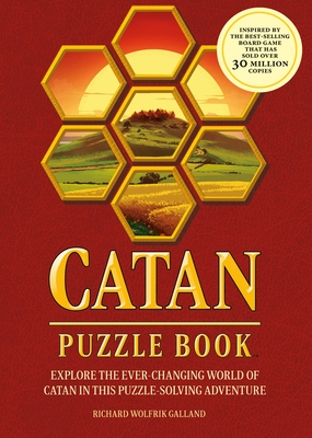 Catan Puzzle Book: Explore the Ever-Changing World of Catan in This Puzzle Adventure-A Perfect Gift for Fans of the Catan Board Game Cover Image