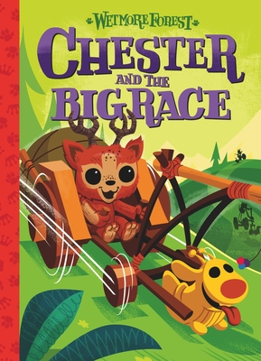 Cover for Chester and the Big Race, 4