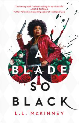 A Blade So Black (The Nightmare-Verse #1) Cover Image