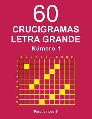 60 Crucigramas Letra Grande - N. 1 Cover Image