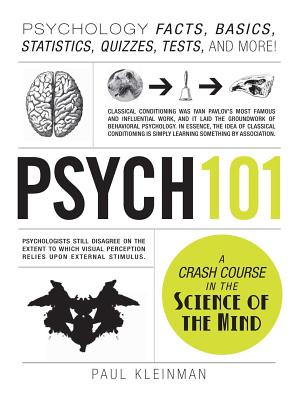 Psych 101: Psychology Facts, Basics, Statistics, Tests, and More! (Adams 101) Cover Image