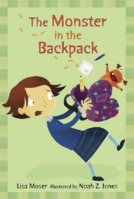 The Monster in the Backpack Cover