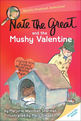 Nate the Great and the Mushy Valentine (Nate the Great Detective Stories) Cover Image
