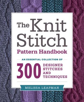 The Knit Stitch Pattern Handbook Cover