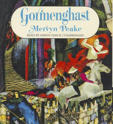 Gormenghast (Gormenghast Trilogy (Audio) #2) Cover Image