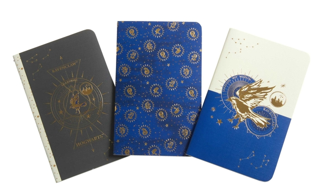 Harry Potter: Ravenclaw Constellation Sewn Pocket Notebook Collection (Set of 3) (Harry Potter: Constellation) Cover Image