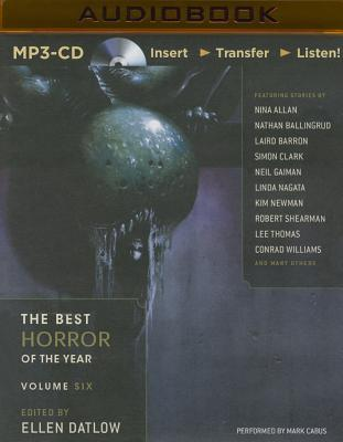 The Best Horror Of The Year Volume Six Mp3 Cd Otto Bookstore