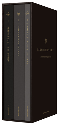 ESV Daily Journey Bible: An Interactive Encounter with God's Word (Three-Volume Set): An Interactive Encounter with God's Word (Three-Volume Set) Cover Image