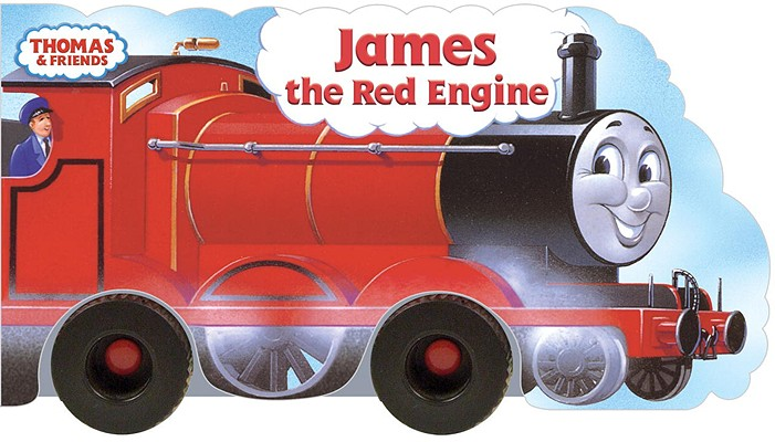 James the Red Engine (Thomas & Friends) Cover