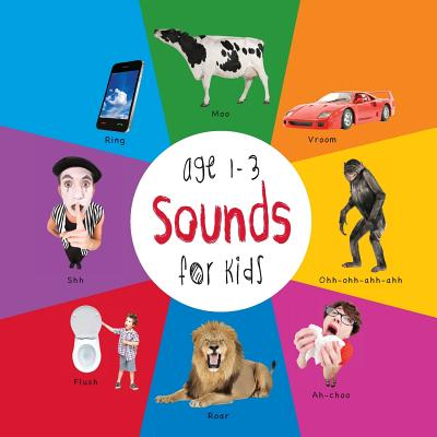 Sounds for Kids age 1-3 (Engage Early Readers: Children's Learning Books) Cover Image