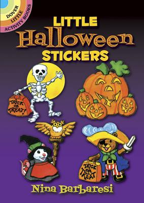 Little Halloween Stickers Cover Image