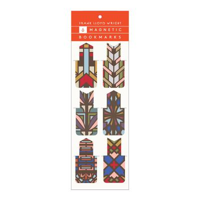 Frank Lloyd Wright Designs Magnetic Bookmarks Cover Image