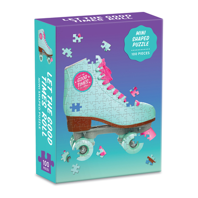 Let the Good Times Roll Roller Skate 100 Piece Mini Shaped Puzzle Cover Image