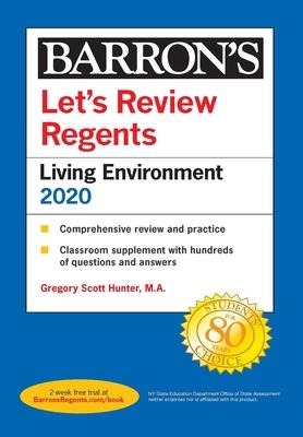 Let's Review Regents: Living Environment 2020 (Barron's Regents NY) Cover Image