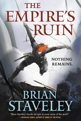 Cover for The Empire's Ruin (Ashes of the Unhewn Throne #1)