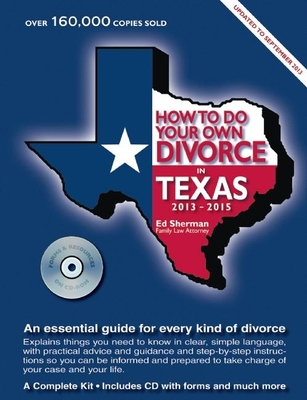 How to Do Your Own Divorce in Texas [With CDROM] Cover Image