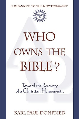 Who Owns the Bible? Cover