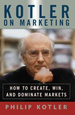 Cover for Kotler on Marketing