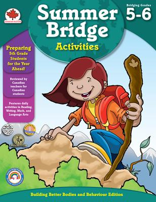 Summer Bridge Activities(r), Grades 5 - 6: Canadian Edition Cover Image