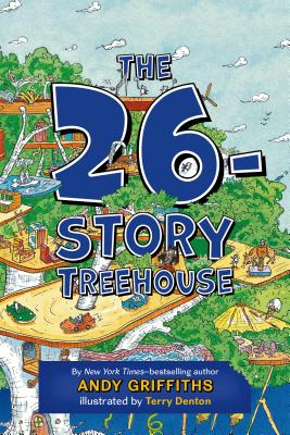 The 26-Story Treehouse: Pirate Problems! (The Treehouse Books #2) Cover Image