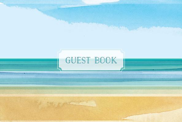 Guest Book Coastal Edition: Featuring Beautiful Coastal Illustrations Cover Image