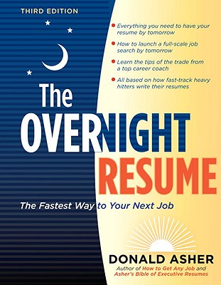 The Overnight Resume Cover