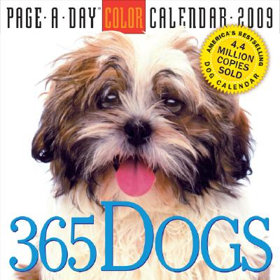 365 Dogs Page-A-Day Calendar 2009 Cover Image