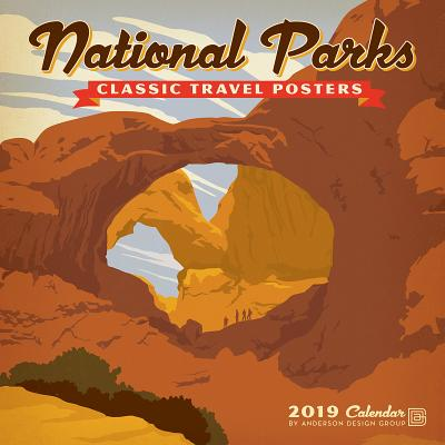 Cal 2019 National Parks Classic Posters Cover Image