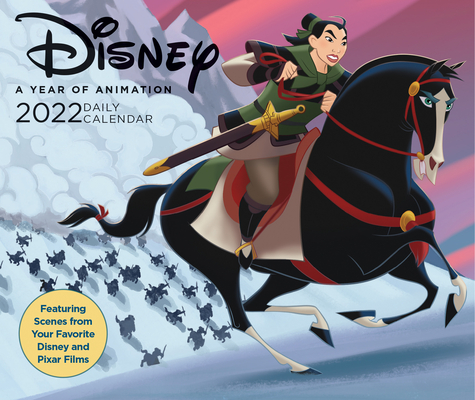 Disney 2022 Daily Cal Cover Image