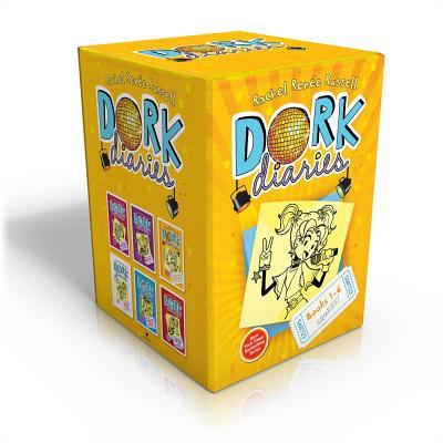 Dork Diaries Box Set, Books 1-6 Cover