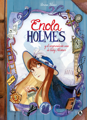 Enola Holmes y el sorprendente caso de Lady Alistair / Enola Holmes: The Case of the Left - Handed Lady (Enola Holmes.La novela gráfica #2) Cover Image
